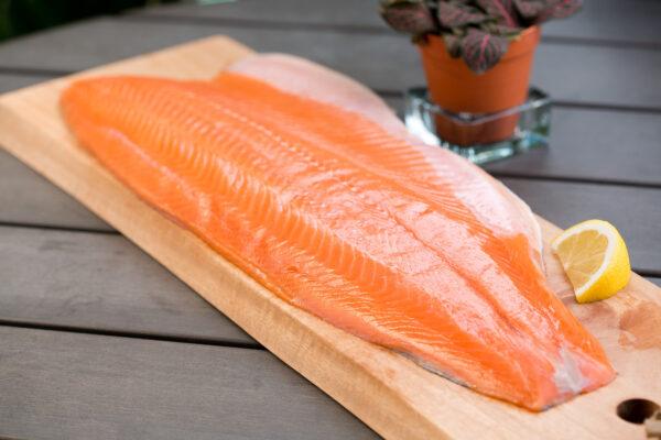salmon fillet charlie