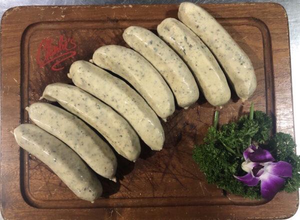 British bangers/sausages