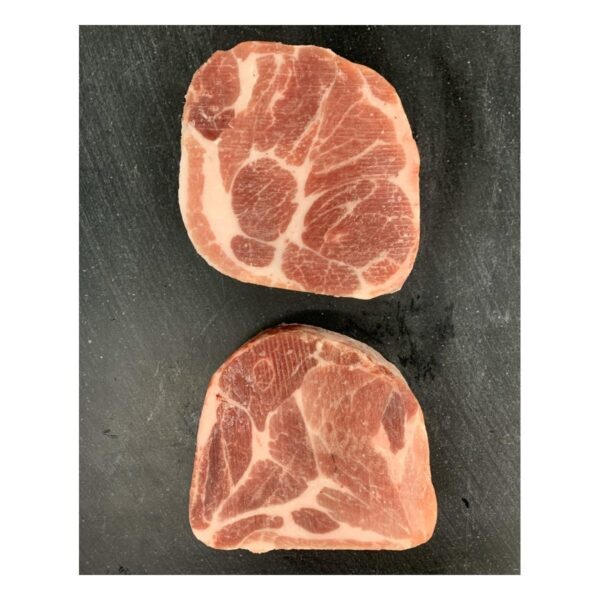 Danish pork neck steak